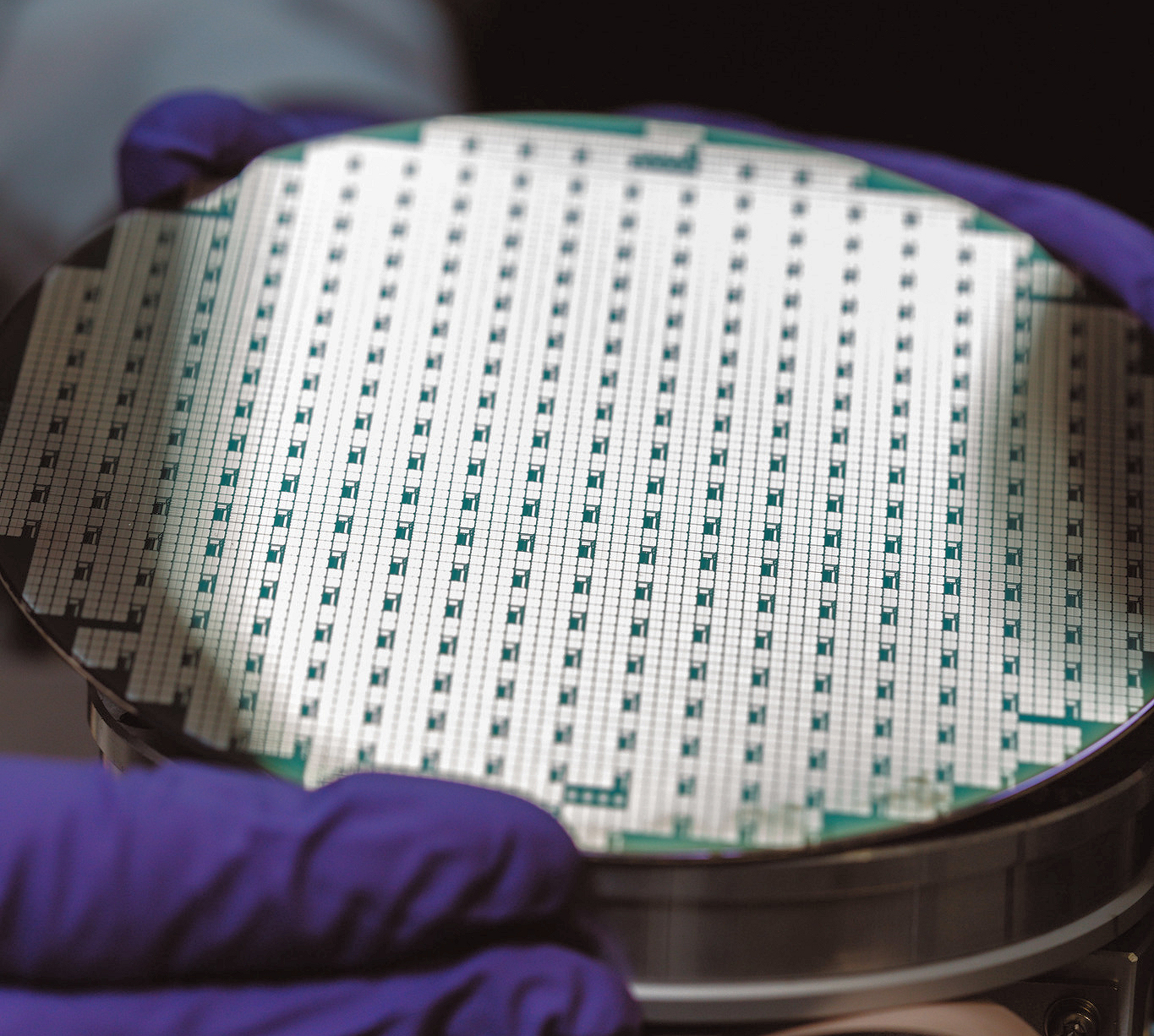 Resulting wafers successfully processed on commercial LED processing line at process foundries.